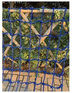 Filet Hamac,Filet d'escalade Corde Escalade pour Grimper Enfant Adulte Rope Ladder Nylon Cordes Hamac-Filet Mesh Filets Maille de Rangement Voiture Coffre Grand Bagage Auto Remorque Chargement