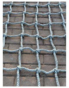 Filet Maille,Filet d'escalade Corde Escalade pour Grimper Enfant Adulte Rope Ladder Nylon Cordes Hamac-Filet Mesh Filets de Rangement Voiture Coffre Grand Bagage Auto Remorque Chargement