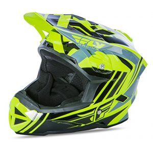 Fly Racing Default Casque de VTT/BMX Kids Hi Vis Noir Enfant L jaune