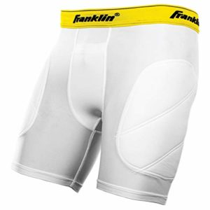 Franklin Sports Youth coulissante Short, Enfant, Blanc