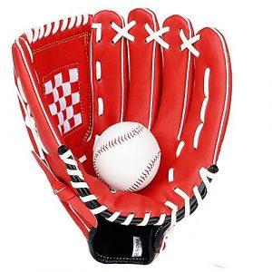 Gants de base-ball Gants de base-ball Pitcher enfants adolescents et adultes Right Hand Throw Gants de Softball 11 / 11,5 / 12,5 pouces avec des gants de baseball Lanceur de baseball Gants de sport fr