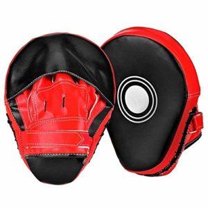 Generic Lot de 2 Gants en polyuréthane pour entraînement MMA Tra Boxe, PCS Foc Training Punching PU Cible 2 pièces