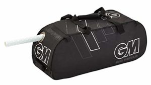 GM CRICKET 606 Wheelie Bag in (Black & White)