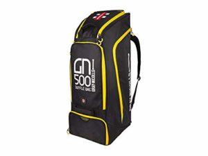 Gray-Nicolls GN500 Sac de Sport Noir/Jaune