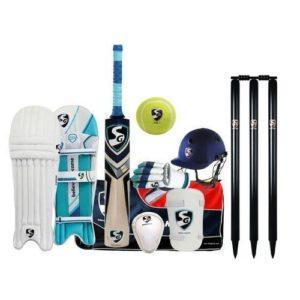 G&S SG Premium kit de Cricket Complet avec English Willow Batte en Taille Senior