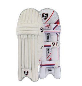 G&S SG Test Cricket Batteur de tampons de Protection de Jambe Droite et Gauche (la Couleur Peut Varier)