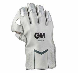 Gunn & ‿Moore Original Gant de Gardien de guichet, Mixte, 52021906, Blanc/argenté, Adulte