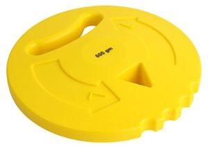 HAEST VINEX Multi – disque à lancer pour les enfants – 600 g – jaune