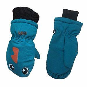 HATCHMATIC Enfants & # 39; Épaississants Chauds Gants de Ski Belle impermable et Coupe-Vent Orts Gants Uniform Code: 4