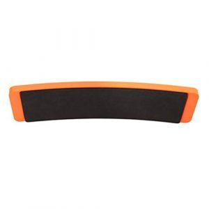Healifty Planche à pirouettes ballet tourne plaque planche d'entrainement pour danseurs pirouette équilibre des pieds rotation orange