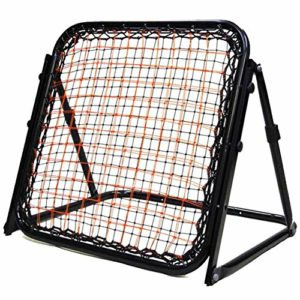 HipHopSport Baseball Throwing, Pitching and Fielding Baseball Trainer, Baseball Pitchback Rebound Net, Double Filet d'entraînement