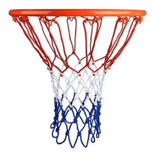 HOGAR AMO 2 PCS Professional Filet de Basket Ball en Nylon Durable Multicolore pour Match Formation Divertissement