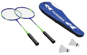 Hudora HD-44 Set de Badminton Mixte Enfant, Multicolore