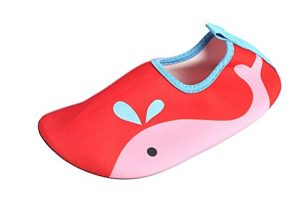 Icegrey , Chaussures Aquatiques pour garçon – Bleu – Whale-Blue, 18 EU-19 EU Grands Enfants