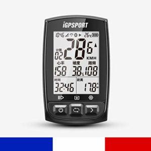 IGPSPORT iGS50E – Compteur de vélo GPS Polyvalent VTT Cadence Vitesse Waterproof Strava