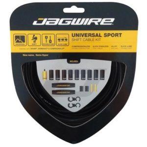 Jagwire Universal Sport Shift Kit Câble de dérailleur Noir