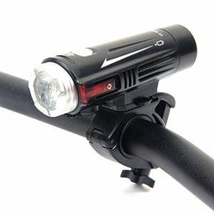 JINDEN La lumière rechargeable ultra lumineuse de vélo, phare puissant de bicyclette de lumens, les lumières avant imperméables de LED faciles à installer for la lampe-torche de sécurité de cyclisme d