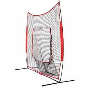 Jklt Filet D'entraînement de Baseball Baseball Practice Net Formation Bloc Net Baseball Training Net Football Entraînement Net for Les Enfants à la Pratique Conception Facile à Utiliser et Stable