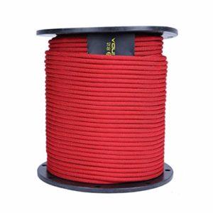 JU FU Corde de Sauvetage en Plein air de 8 mm Corde d'escalade en Rappel de Corde Corde de Sauvetage en Plein air Fournitures de Sauvetage 200m (Color : B)