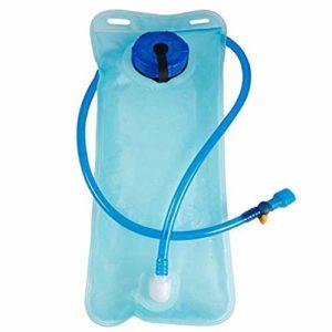 Kaemma Sac d'hydratation Portable 2L Vélo Randonnée Sac d'hydratation Camping Universel Sac d'eau Courante Accessoires d'extérieur (Color:Blue)