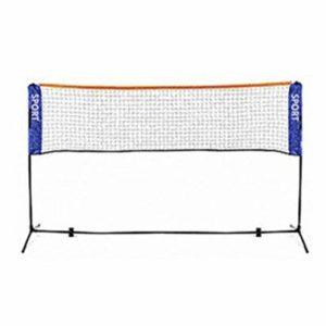 [KEM] Portable Polyvalent de Badminton Tennis Volley-Ball Gokku Net 6.1m Support de Rue de Tennis Club