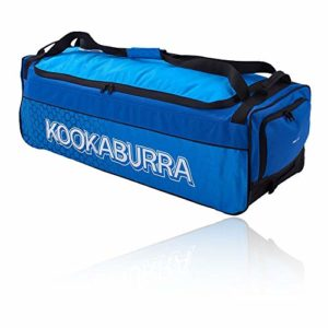 KOOKABURRA 2020 4.0 Sac à roulettes pour Cricket Unisexe Bleu Marine/Cyan