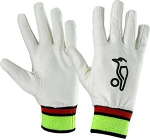 KOOKABURRA Full Chamois Wicket Keeping Inners, Over Sized Mens by Kookaburra