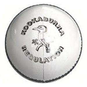 KOOKABURRA Regulation Balle de Cricket Blanc