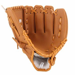 Lawei Baseball Glove Batting Gloves Sport Baseball PU Leather for Adult Youth Kids, 3 Size – 10.5 inch, 11.5 inch, 12.5 inch (12.5 inch)