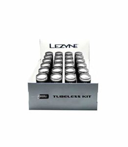 LEZYNE Tubeless Kit de réparation pour boîte de 24 pièces Noir