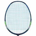 Li-Ning Aeronaut 7000 Raquette de Badminton pour débutants et confirmés, Bleu/Vert