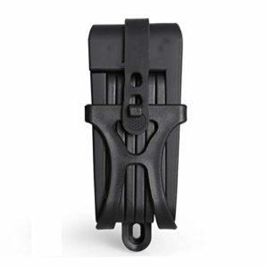 LittleBeauty Haute Sécurité Anti-vol Anti-Coupure 12 Tonnes Hydraulique Machine De Découpe Verrouillage Antivol Verrouillage Partie Électrique Chaîne De Verrouillage Portable (Color : Black)