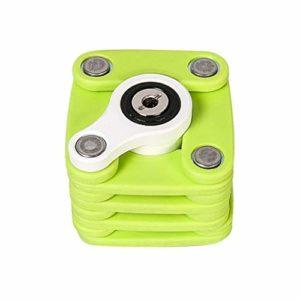 LittleBeauty Pneu de Sport en Plein air Serrure Pliable Carré Acier Inoxydable Verrou antivol Accessoires de Verrouillage de sécurité de Haute qualité