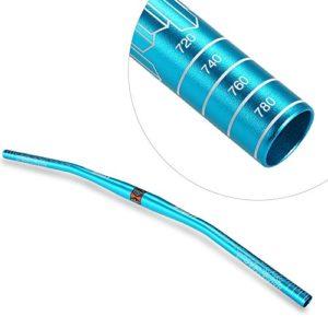 Lixada Guidon VTT en alliage d'aluminium pour VTT (780 M) anodisé Bleu