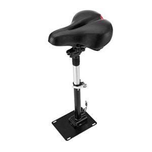 Lixada Selle électrique de Planche à roulettes Xiaomi Mijia M365 Scooter Pliable Hauteur Réglable Absorbant la Chaise Pliante de Siège/Barre de Levage de Commande à Main (Siège)