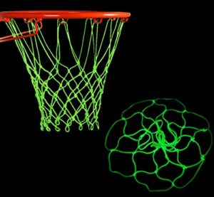 Lodou Filet de Basket-Ball Lumineux en Plein air Portable alimenté par Le Soleil de Sport en Nylon Lumineux Filet de Basket-Ball pour Enfants garçons Sports de Plein air Piscine à l'école