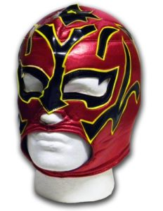 Luchadora Estrella Fugaz Etoile filante Masque Catch Mexicain Adulte Lucha