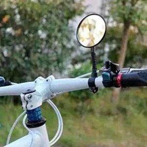 MachinYesell Réglable Rotatif Vélo De Route De Vélo De Moto Moto Vélo Vue Arrière Rétroviseur Guidon Rétroviseur