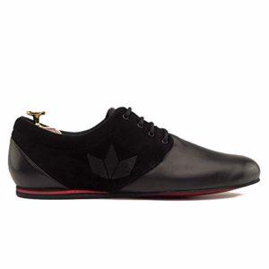 Manuel Reina Daniel Competition Evo Chaussures de Bal Latin pour Homme – Noir – Noir, 40 EU EU