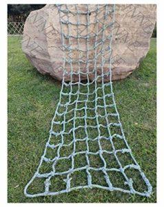 Mesh Filet,Filet d'escalade Corde Escalade pour Grimper Enfant Adulte Rope Ladder Nylon Cordes Hamac-Filet Filets Maille de Rangement Voiture Coffre Grand Bagage Auto Remorque Chargement