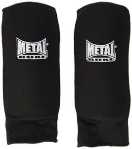 METAL BOXE Protège Avant-Bras Noir Taille M