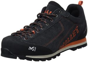MILLET Friction M M, Chaussures de Randonnée Basses Mixte Adulte, Gris (Deep Grey – Anthracite 1229), 40 EU