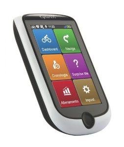 Mio Cyclo 505 HC ITALY feu de navigation pour vélo Noir/Blanc avec ceinture cardiaque et capteur de cadence et de roue