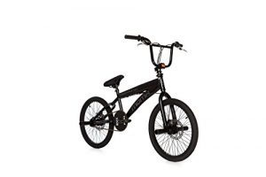 Moma Bikes Vélo BMX COMPETITION FREESTYLE 360º, Aluminium, Freins a Disque – Roue 20″