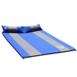 Moppi Double matelas gonflable automatique d'épaisseur avec l'oreiller lit d'air tapis de sieste