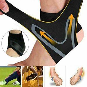 N / A 1Pair Walk-Hero The Adjustable Elastic Ankle Brace The Original EU 35-39