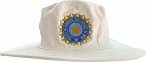 ND Sports India Chapeau de Cricket Anti-froissable Confortable à Large Bord