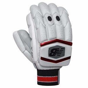 New Balance 9TC860GJ Junior TC 860 Gants de Frappe de Cricket, Rouge, Youth Right Hand