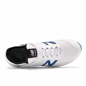 New Balance CK4040 L4 Chaussures De Cricket 2020, Blanc, 10.5 UK