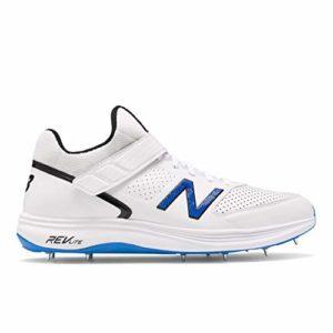 New Balance CK4040 L4 Chaussures De Cricket 2020, Blanc, 7.5 UK